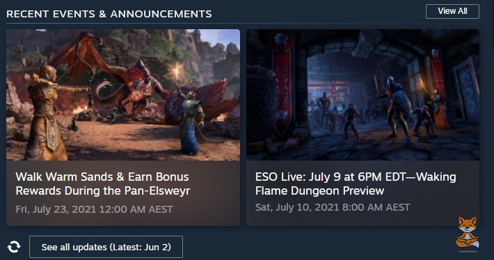 ESO Events Announcements