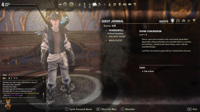 ESO Quest Journal