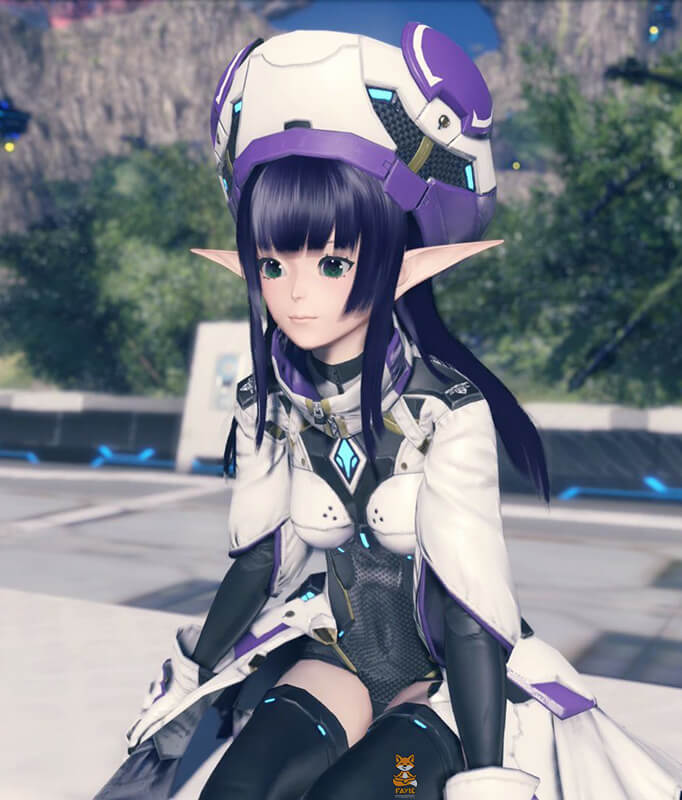 PSO2 Character Preview