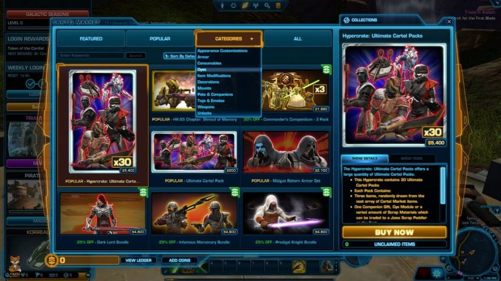 Swtor builds for pvp